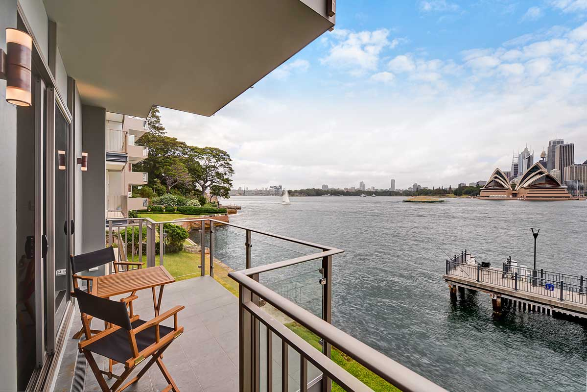 Kirribilli Unit Block Balconies